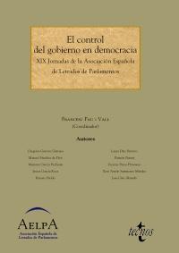 El control del Gobierno en Democracia