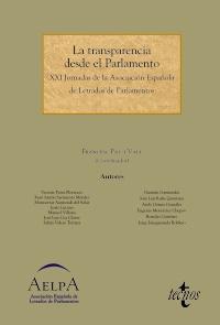 La transparencia desde el Parlamento